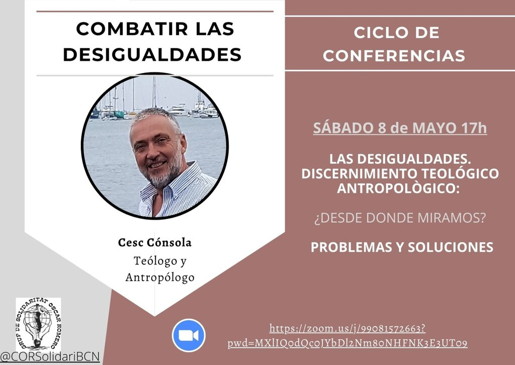 Combatir la Desigualdad con Cesc Cónsola